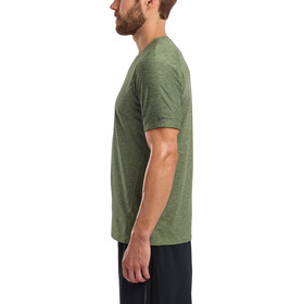 saucony Breakthru Short Sleeve Shirt Men, four leaf clover